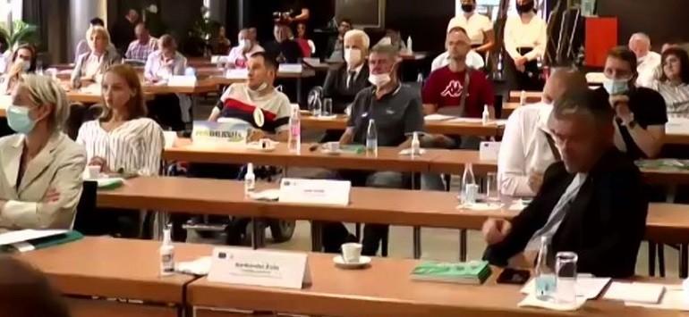 """Predstavnici Saveza distrofičara F BiH prisustvovali konferenciji """"Ravnopravno-različiti"""""""