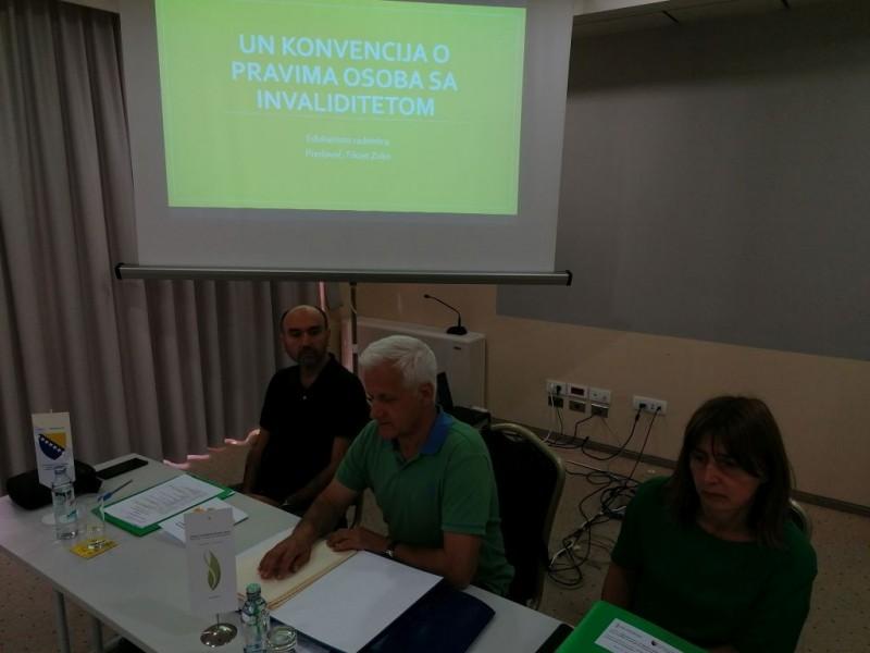 Savez organizovao dvodnevnu radionicu na temu UN Konvencije o pravima OSI 5