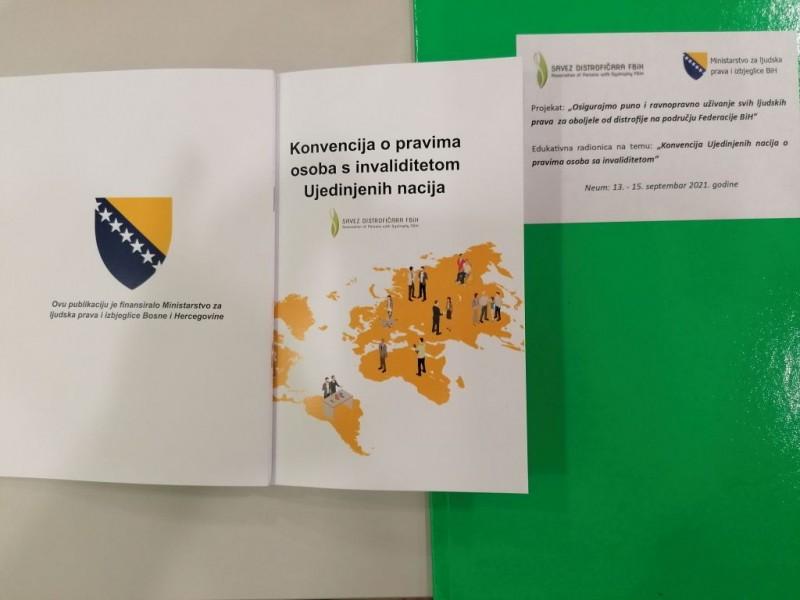 Savez organizovao dvodnevnu radionicu na temu UN Konvencije o pravima OSI 10