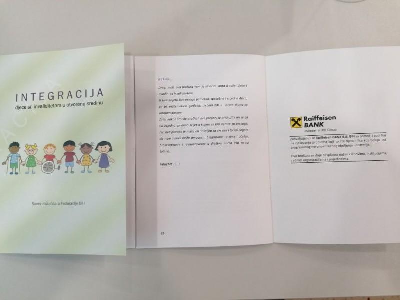 """Savez održao promociju brošure """"Integracija djece sa invaliditetom u otvorenu sredinu"""" 4"""