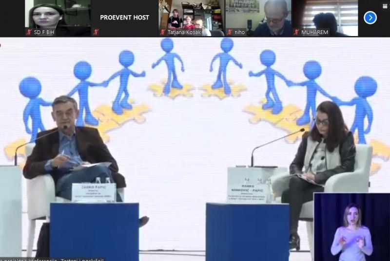 """Predstavnici Saveza distrofičara F BiH učestvovali na konferenciji """"Zastani i poslušaj"""" 1"""