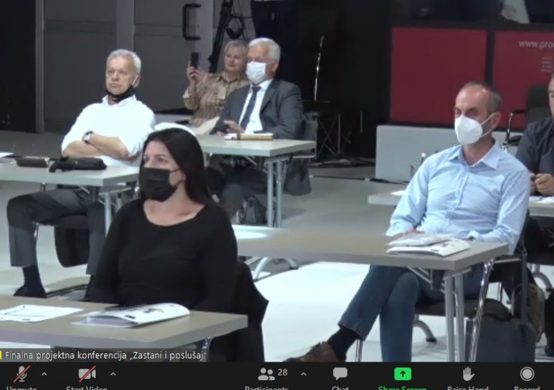 """Predstavnici Saveza distrofičara F BiH učestvovali na konferenciji """"Zastani i poslušaj"""" 2"""